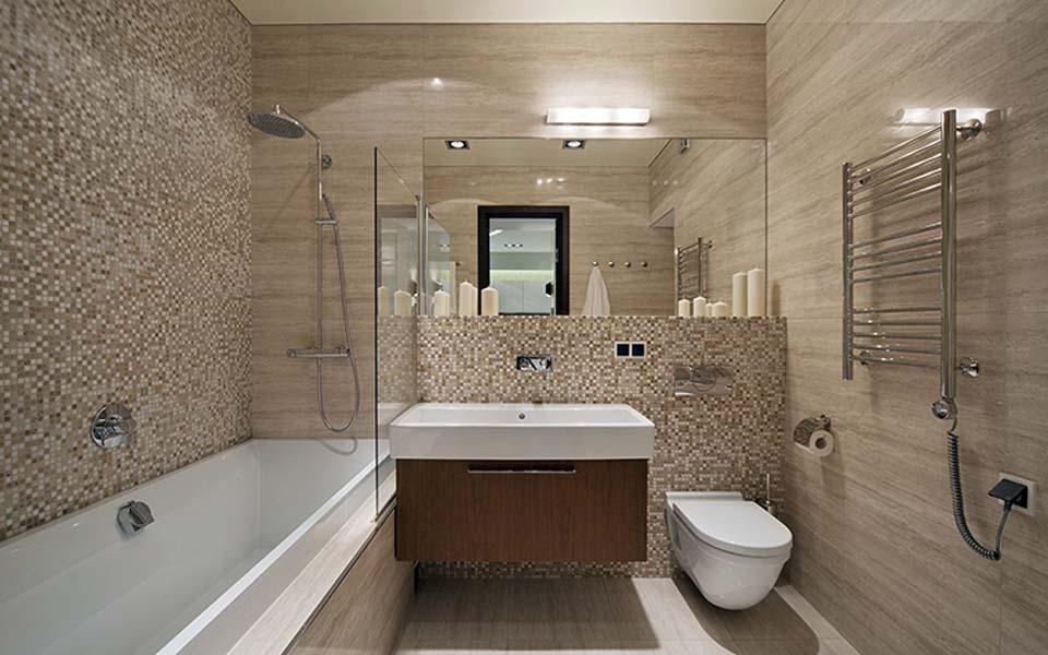 Дизайн ремонт в ванной