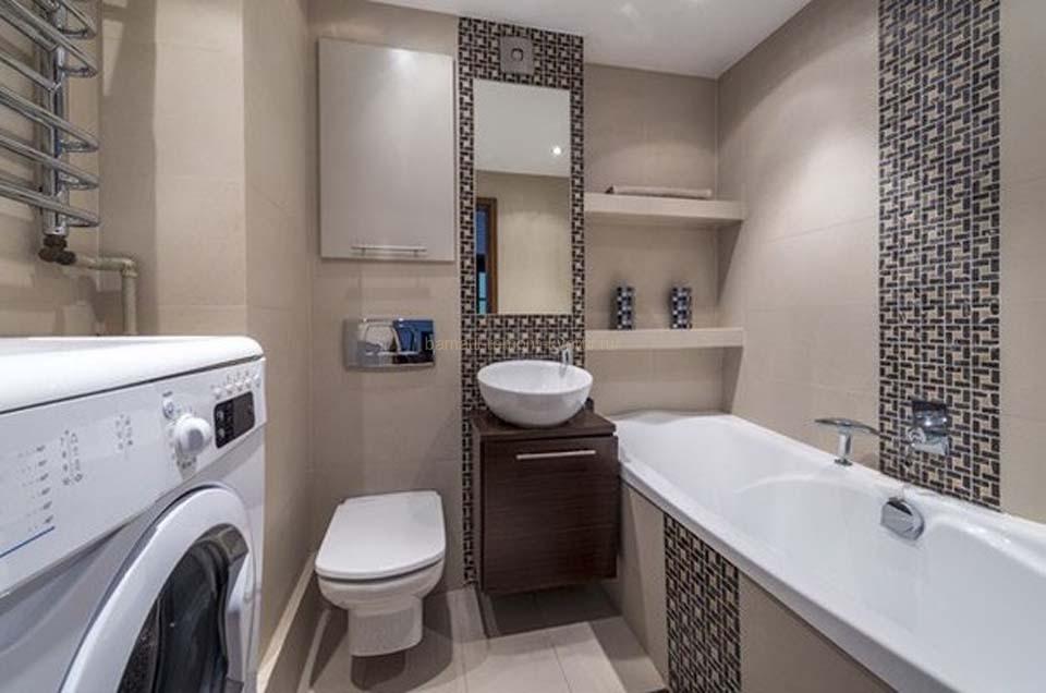 Дизайн ванной 5 кв.метров фото